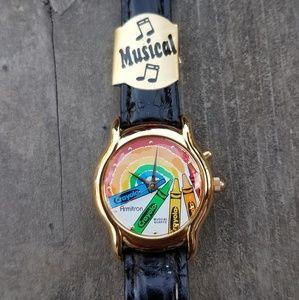 New! Vintage Crayola Musical Watch by Armitron